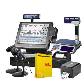 Автоматизация продуктового магазина до 100 кв.м