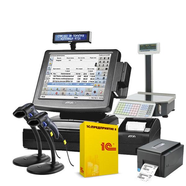 Автоматизация продуктового магазина от 100 кв.м