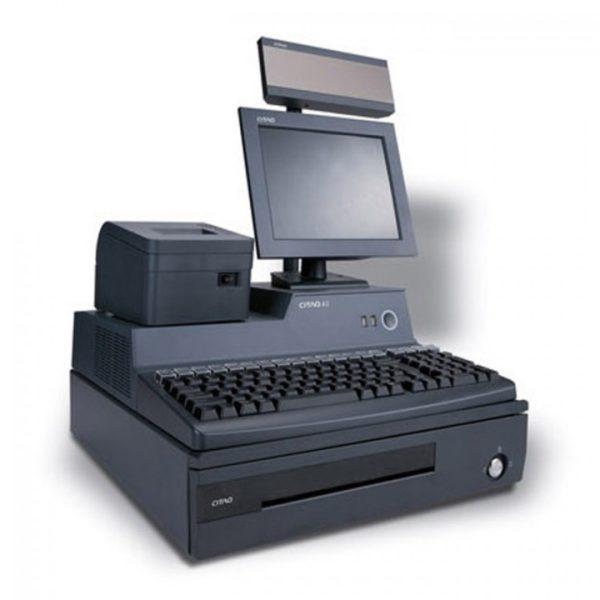 Pos-система в комплекте 18.5''+клавиатура POSUA 64 кл.+денежный ящик+принтер чеков+сканер ШК